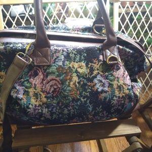VINTAGE Floral Forever 21 Carrying Bag